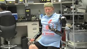 Les Baugh robotic arm